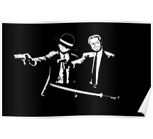 One piece Pulp Fiction Poster