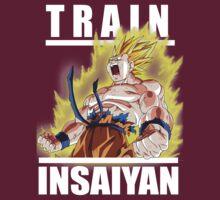 Train Insaiyan - Goku by AliGokalp