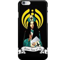 Patron Saint of Bass head iPhone Case/Skin