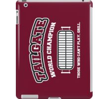 Tailgate World Champ iPad Case/Skin