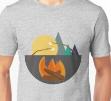 Bright Moons and Marshmallow Nights Unisex T-Shirt