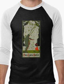 Once upon a bonfire Men's Baseball ¾ T-Shirt