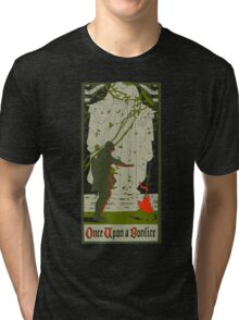 Once upon a bonfire Tri-blend T-Shirt