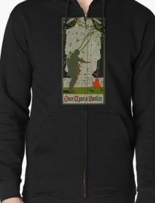Once upon a bonfire Zipped Hoodie