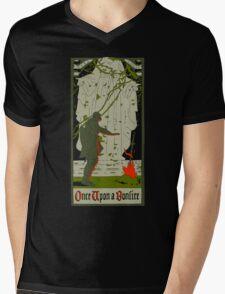 Once upon a bonfire Mens V-Neck T-Shirt