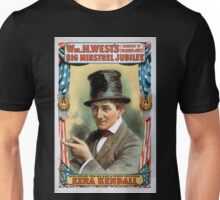 Performing Arts Posters Wm H Wests Big Minstrel Jubilee formerly of Primrose West 1756 Unisex T-Shirt