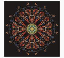 Mandala - 0013 - The Raven and the Sea 16 Mirror Kids Tee