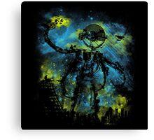 Mad Robot 2 Canvas Print