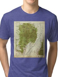 USGS TOPO Map Arizona AZ Chiricahua 315349 1919 125000 Tri-blend T-Shirt