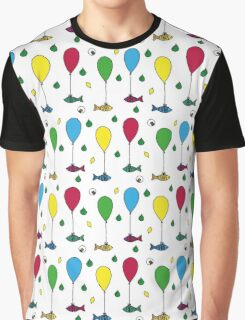 Fishballoons in LHM rain Graphic T-Shirt