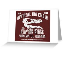 Raptor Ridge Greeting Card