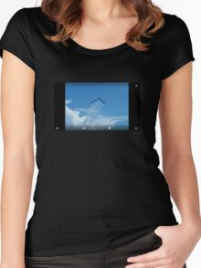 Air Show X5 Women's Fitted Scoop T-Shirt