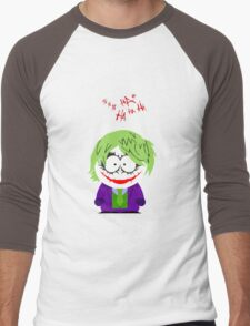 jocker Cartoon Men's Baseball ¾ T-Shirt