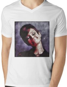 Audrey Hepburn Hollywood Actress Mens V-Neck T-Shirt