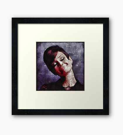 Audrey Hepburn Hollywood Actress Framed Print