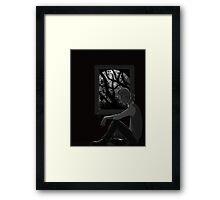 Full Moon Rising Framed Print