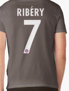 Ribery Mens V-Neck T-Shirt