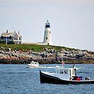 Wood Island Lighthouse by Poete100