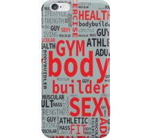 Fitness and healthy style iPhone Case/Skin