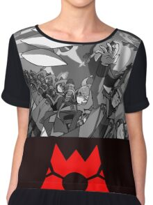 Pokemon Team Magma Chiffon Top