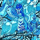 Blue Birds by Cherie Roe Dirksen