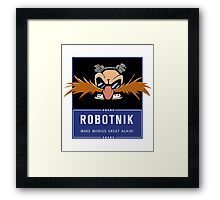 Robotnik 2016 Framed Print