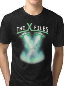X-files rock tee Tri-blend T-Shirt