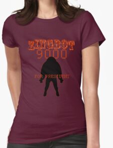 Zingbot 9000 returned for president Womens Fitted T-Shirt