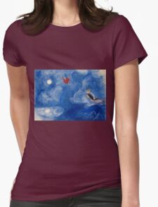 Chagall Womens Fitted T-Shirt