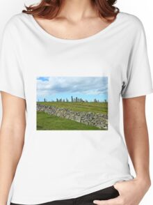 The Callanish Stones, Outer Hebrides, Scotland Women's Relaxed Fit T-Shirt