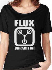 FLUX CAPACITOR Funny BACK TO THE FUTURE TEE Humor 80s DOC BROWN Marty VTG Women's Relaxed Fit T-Shirt