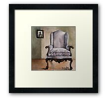 Memory Chair Framed Print