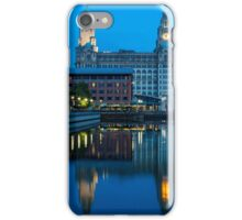 Liver Buildings, Liverpool iPhone Case/Skin