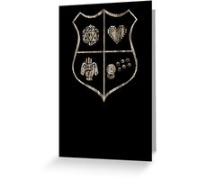 Nerd Crest Greeting Card