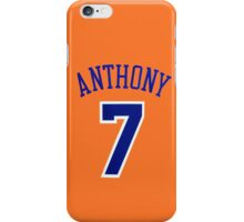 Carmelo Anthony iPhone Case/Skin