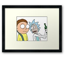 Rick and Morty Framed Print