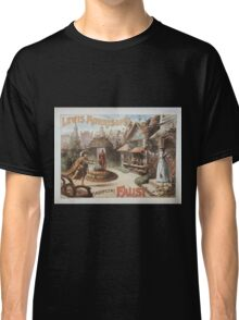 Performing Arts Posters Lewis Morrisons magnificent Faust 0685 Classic T-Shirt