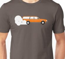 Volvo 240 Wagon Burnout  Unisex T-Shirt