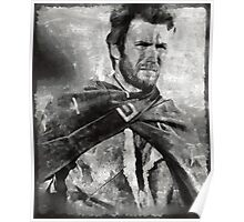 Clint Eastwood Hollywood Actor Poster