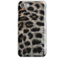 Leopard fur  iPhone Case/Skin