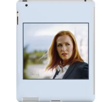Scully in the wind iPad Case/Skin