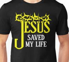Christian T Shirt - Jesus Saved My Life Shirt Unisex T-Shirt