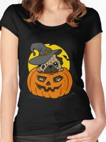 Halloween 2016 Women's Fitted Scoop T-Shirt