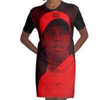 Tiger Woods - Celebrity Graphic T-Shirt Dress
