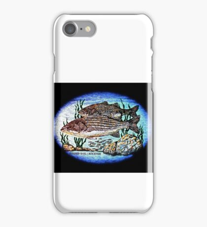 Striped bass / Rockfish iPhone Case/Skin