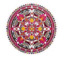 Mandala 016 Photographic Print