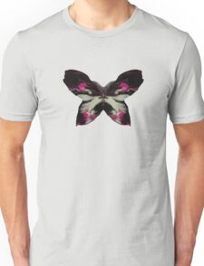 Pink Butterfly Ink Unisex T-Shirt