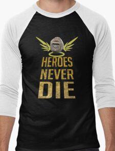 Overwatch-Harambe memorial Men's Baseball ¾ T-Shirt