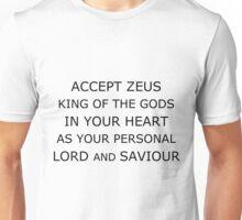 Accept Zeus Unisex T-Shirt