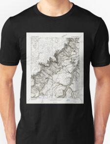 USGS TOPO Map Arizona AZ Lees Ferry SW 312083 1954 24000 Unisex T-Shirt